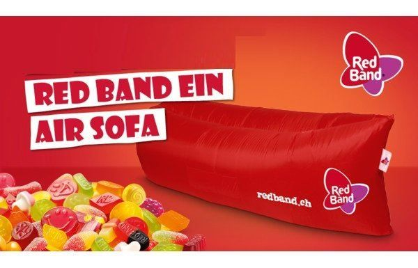 Red Band Air Sofa - Luftbett
