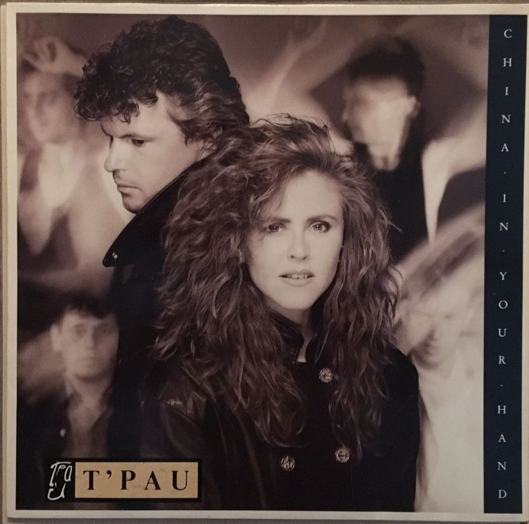 T'PAU - CHINA IN YOUR HAND - MAXI-SINGLE