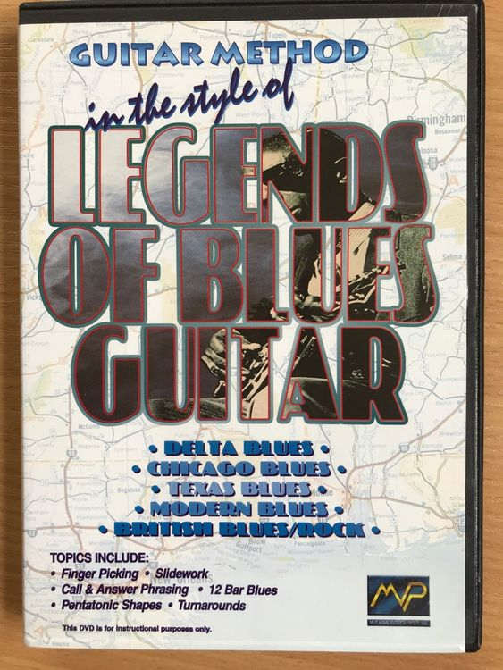 3 DVDs: Guitar Method in the style of