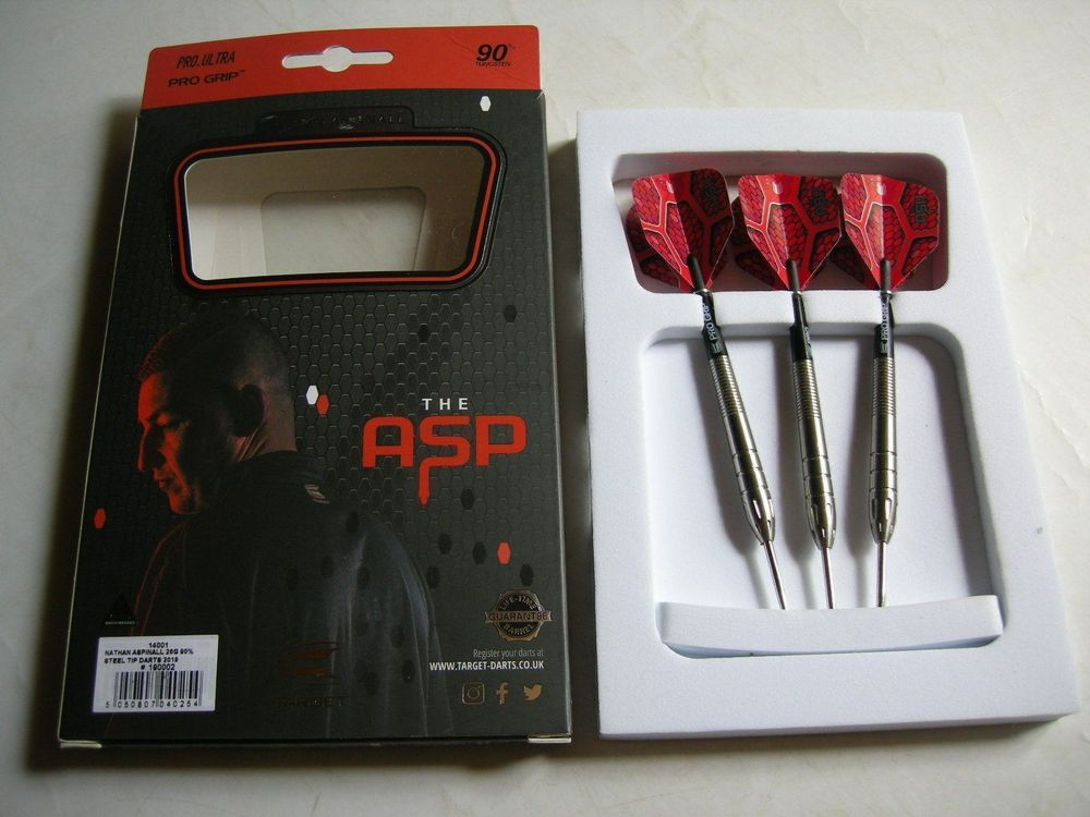 Nathan THE ASP Aspinall Steel Darts Set