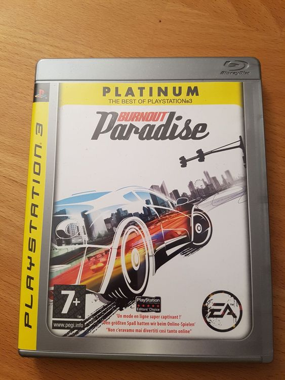 Burnout Paradise Platinum. Playstation 3