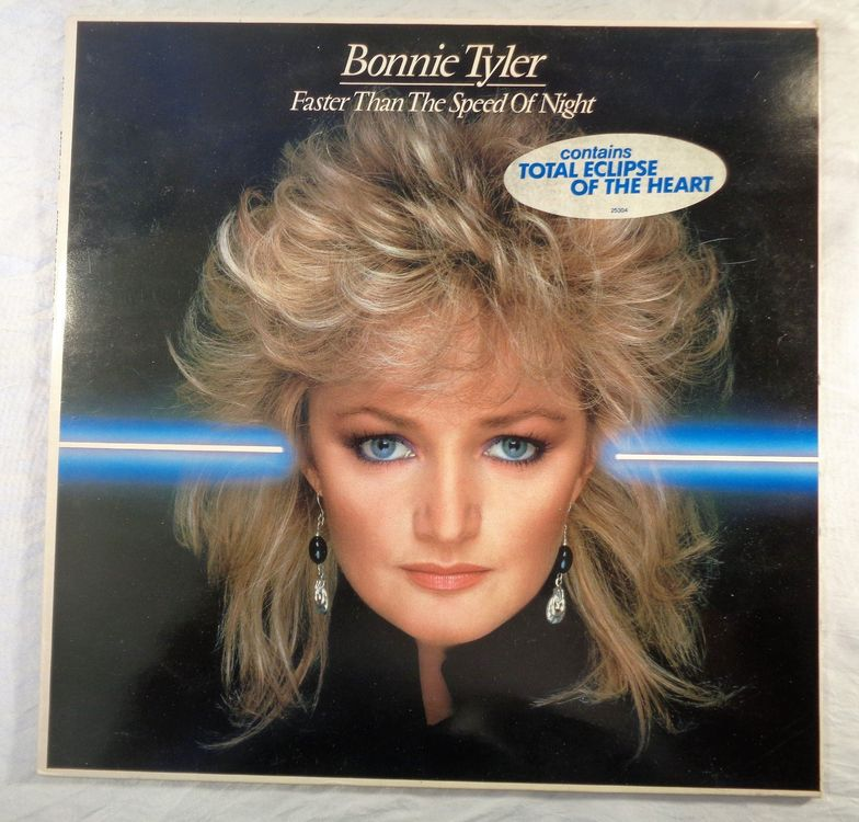 Bonnie Tyler - Faster Than The Speed Of