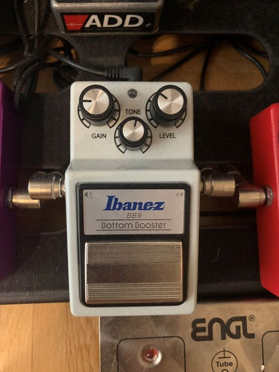 Ibanez BB9 Bottom Booster & Overdrive