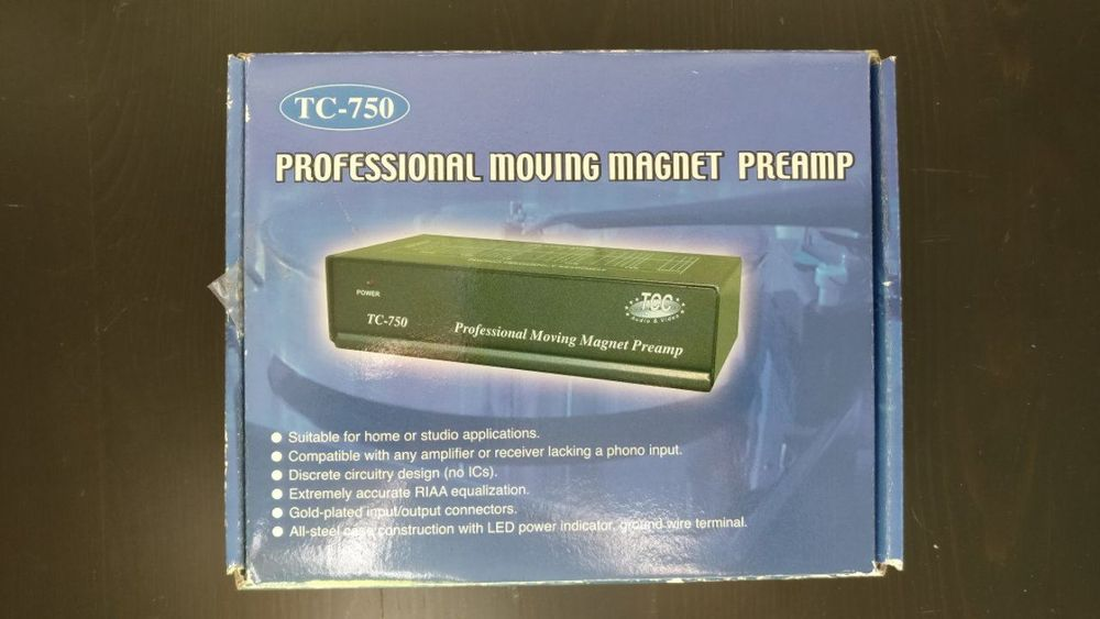 TC-750 Professional Moving Magnet Preamp