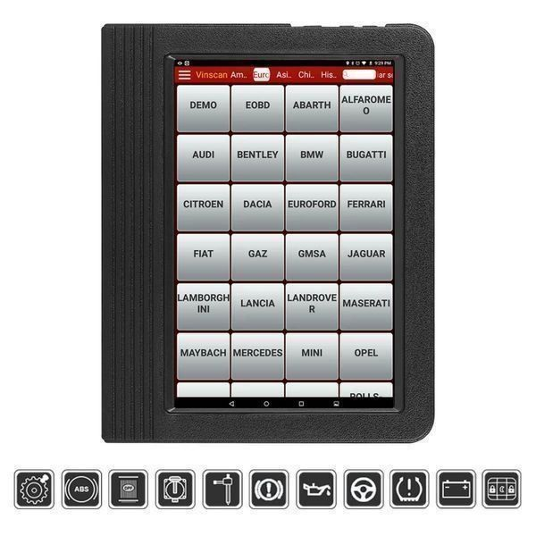 Launch OBD2  Alle System Programmier