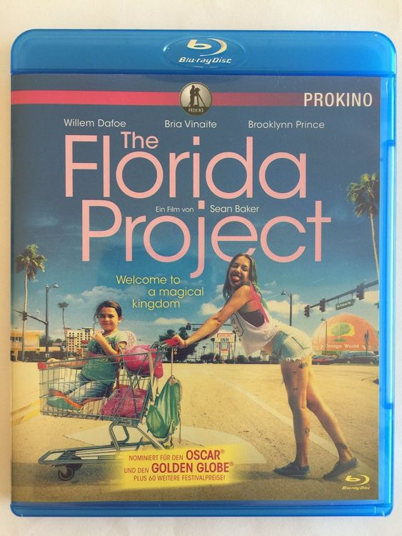 Blu-ray THE FLORIDA PROJECT Willem Dafoe