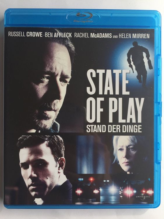 Blu-ray Disc STATE OF PLAY Russell Crowe