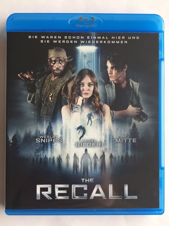 Blu-ray THE RECALL Sci-Fi, Wesley Snipes