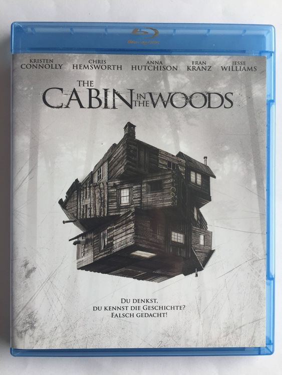 Blu-ray Disc CABIN IN THE WOODS (Horror)
