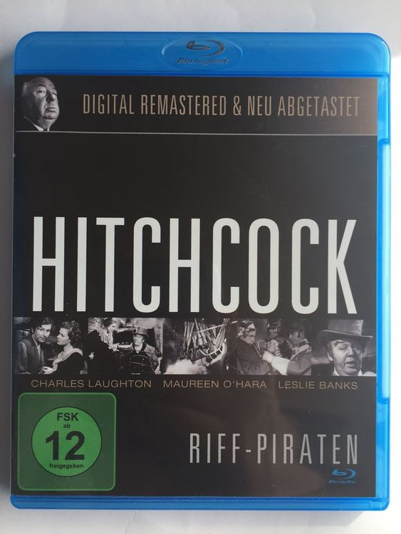 Blu-ray RIFF-PIRATEN (Alfred Hitchcock)