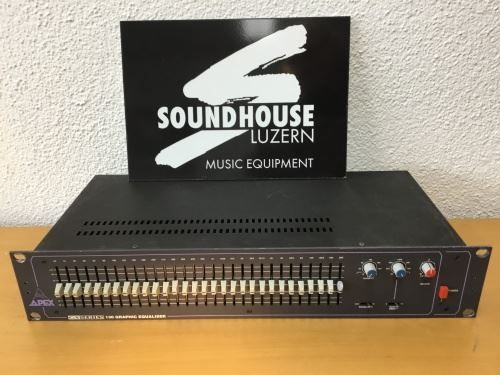 Apex Audio GX - 130 Equalizer Occasion