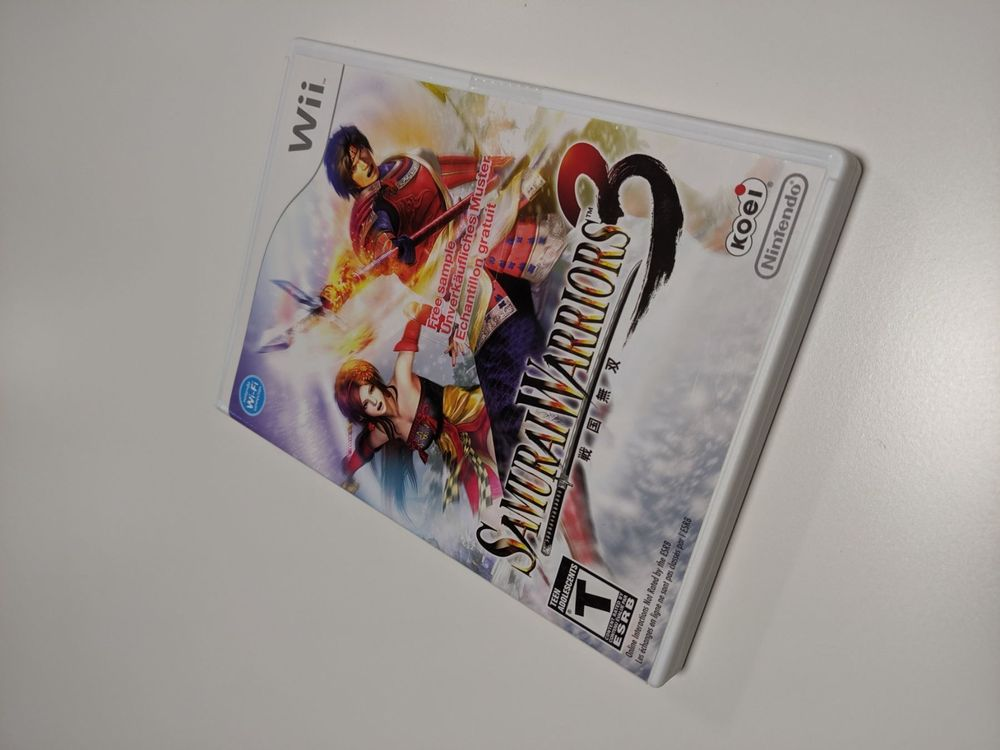 Wii Samurai Warriors 3 US