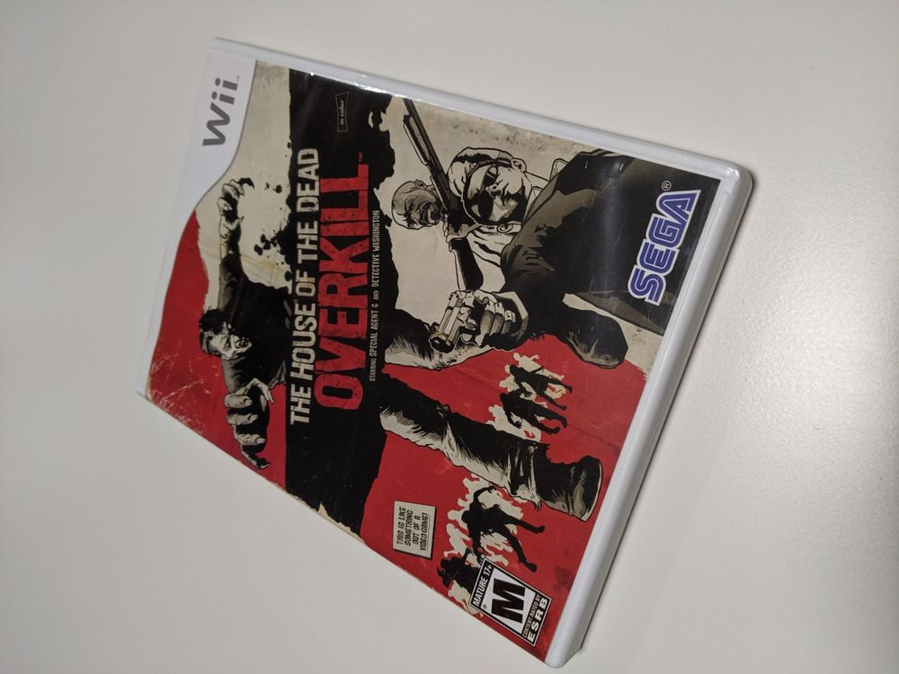 Wii The House of the Dead Overkill US