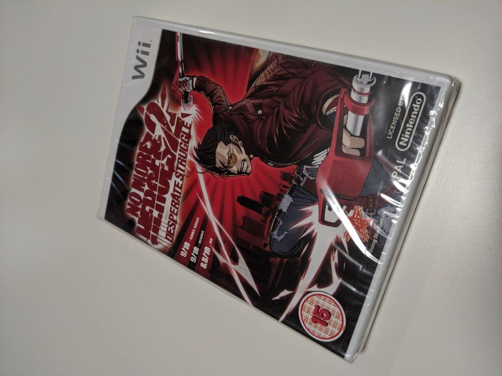 Wii No More Heroes 2