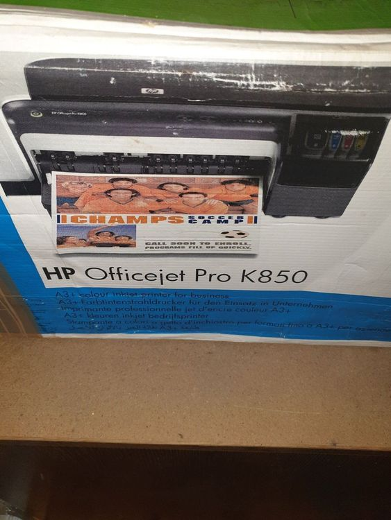 HP Drucker Officejet pro K850