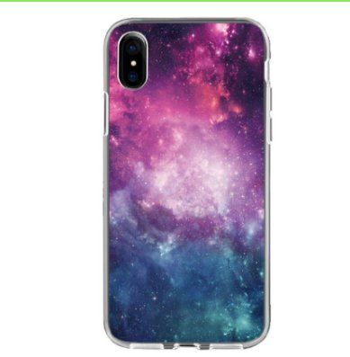 """**IPhone 7 8 Backcover Hülle """"Weltall""""**"""