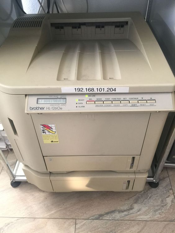 Brother HL-1260e