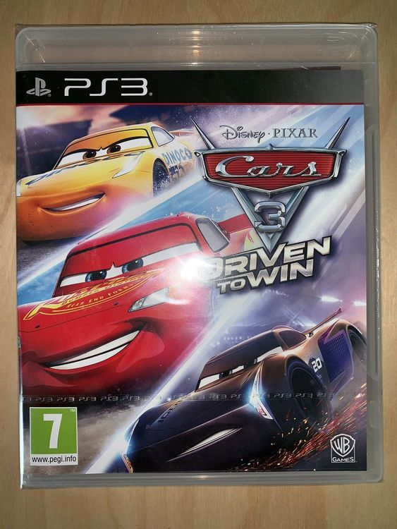 Ps3 Cars 3 Driven To Win Neuf