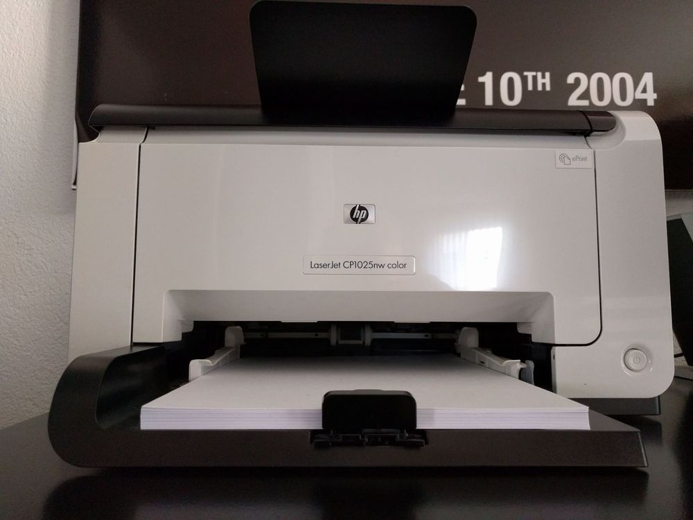 HP LaserJet CP1025nw color
