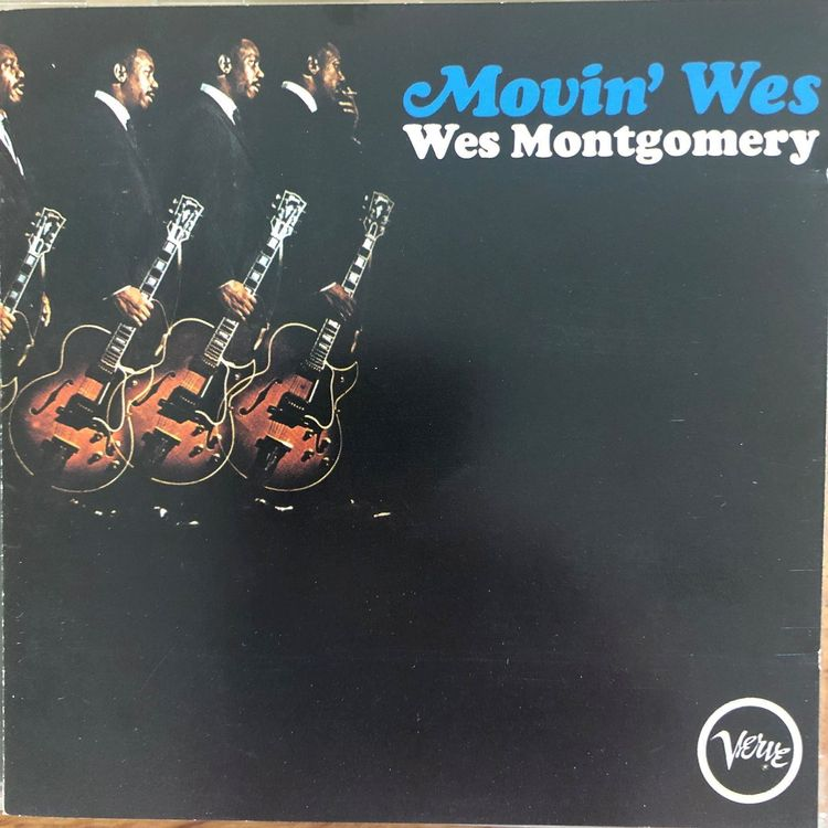 Wes Montgomery • Movin'Wes • CD • 1965