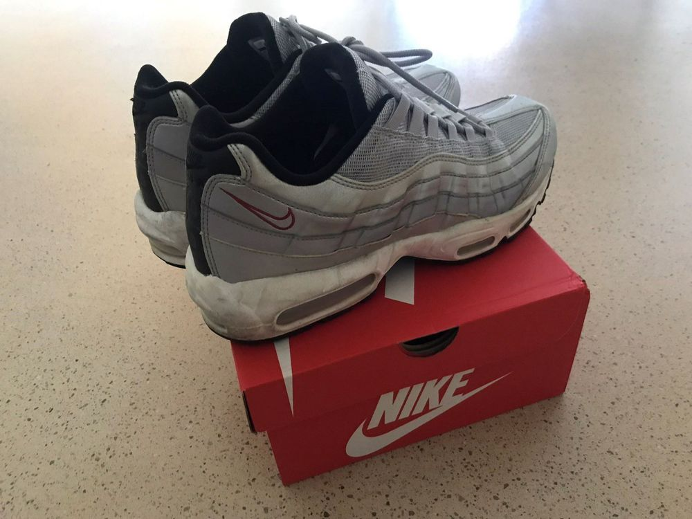 great quality great look new photos Nike Air Max 95 Silver Bullet Gr. 45.5 kaufen auf ricardo.ch