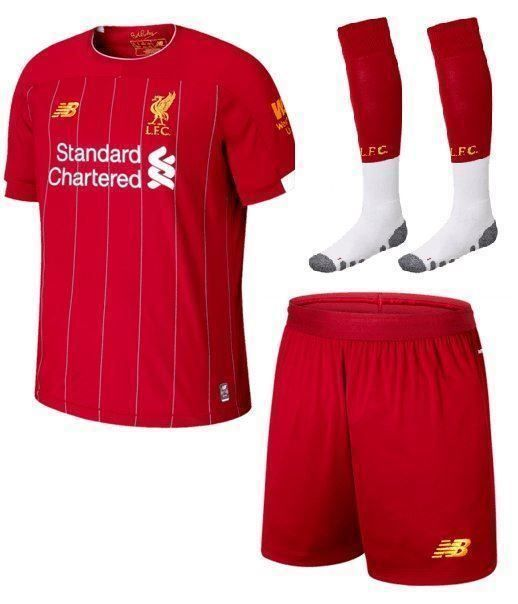 LIVERPOOL KINDER FUSSBALL TRIKOT 2019/20