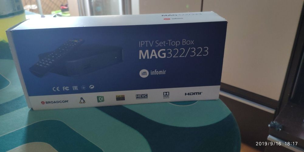MAG 322 (IPTV Set-Top Box)