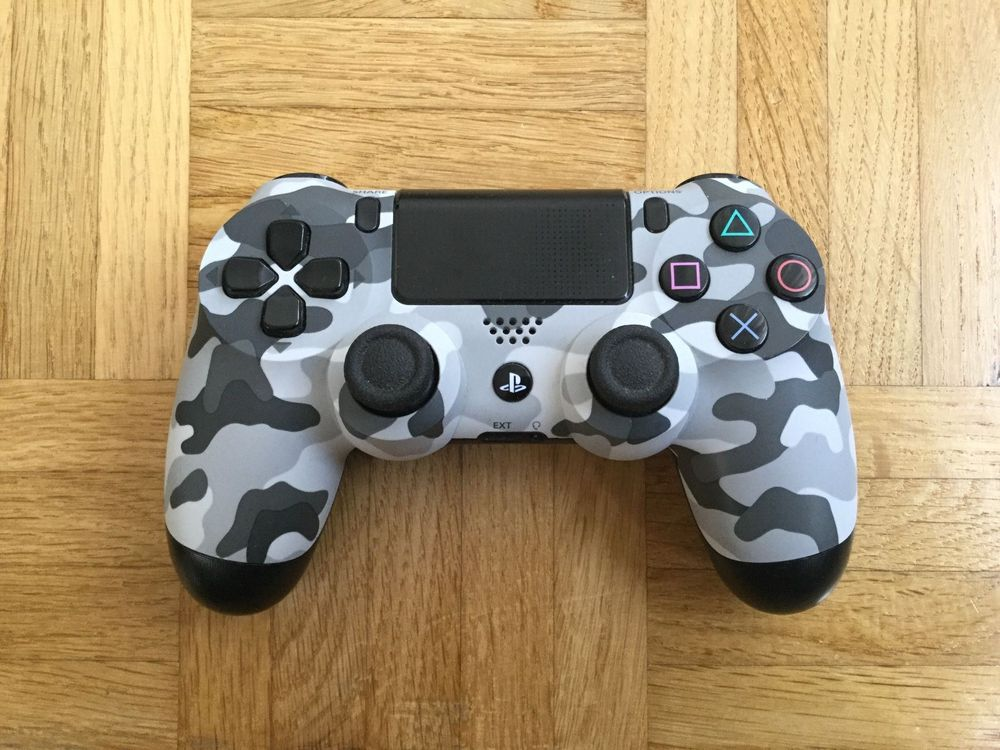 PS4 Controller Urban Camouflage