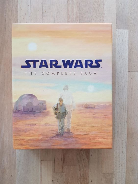 Blu Ray Star Wars - The Complete Saga
