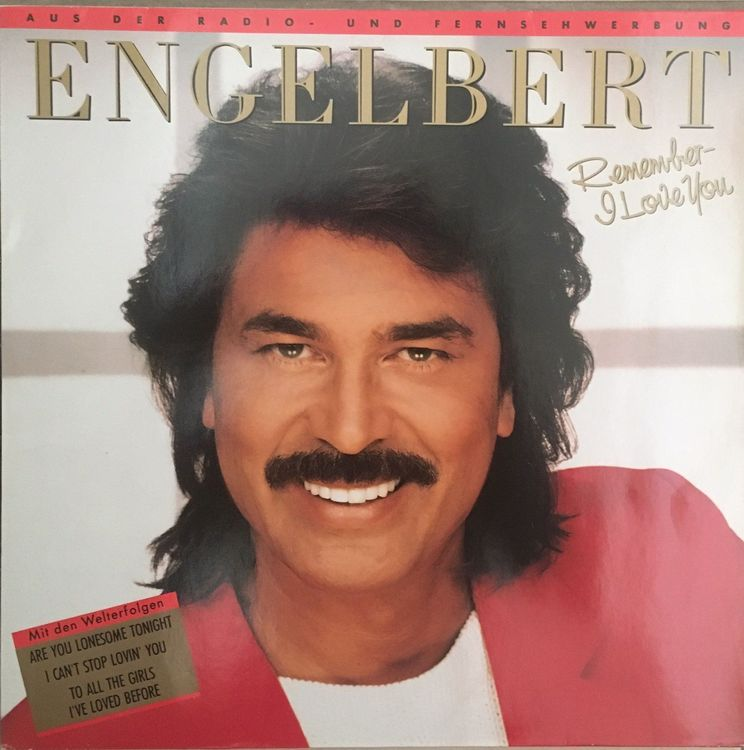 ENGELBERT - REMEMBER I LOVE YOU - 33 Tou