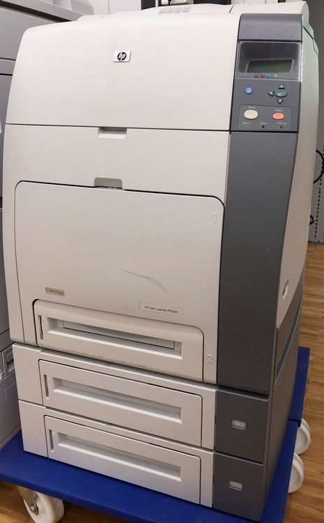 HP Color LaserJet 4700dn, 2x  Papierfach