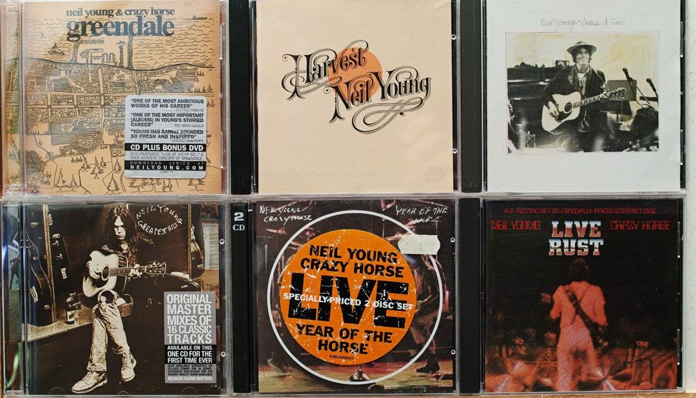 Neil Young (&) Crazy Horse – 46 CDs !!!!