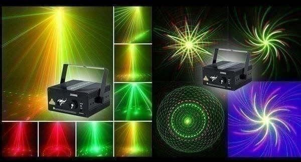 RG Laser LED Stage Lighting+Remote