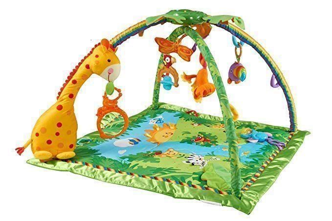 Tapis éveil bébé jungle Fisher price