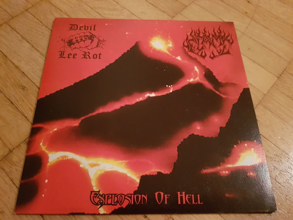 Devil Lee Rot/Flame - Explosion of hell