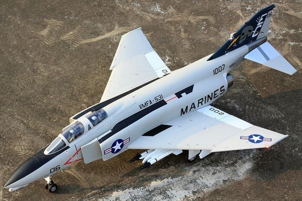 F-4D Phantom II, Spw 1030mm, Freewing