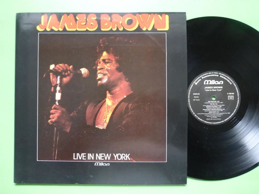 JAMES BROWN *DLP* LIVE IN NEW YORK