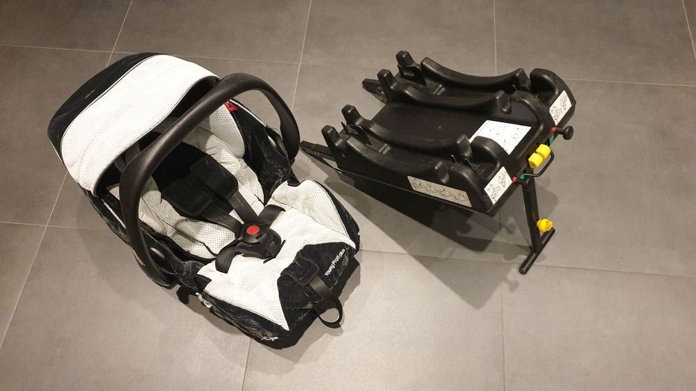 Recaro Young Profi plus mit Isofix-Basis