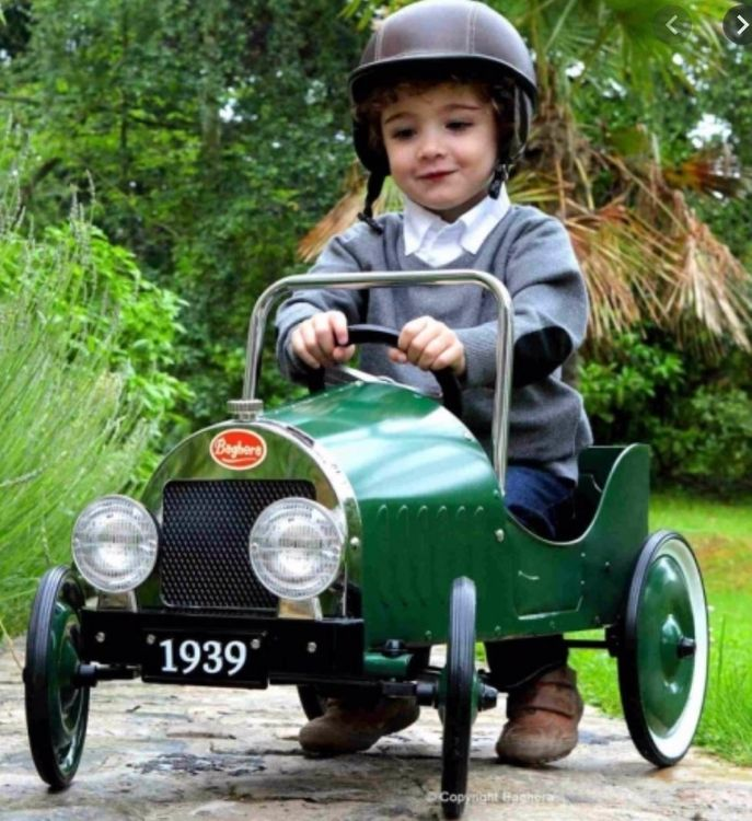 Baghera classic Pedal car for age 3-7