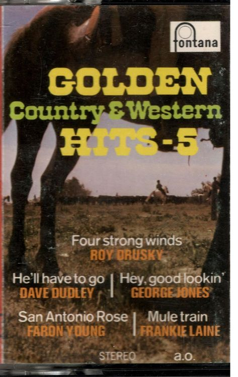 Golden Country & Western Hits 5 (MC)