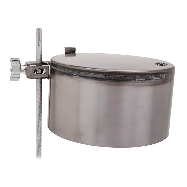 """Latin Percussion Raw 8"""" Potz with Mount"""