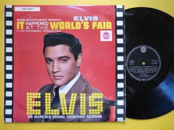 ELVIS PRESLEY *LP* IT HAPPENED AT THE..