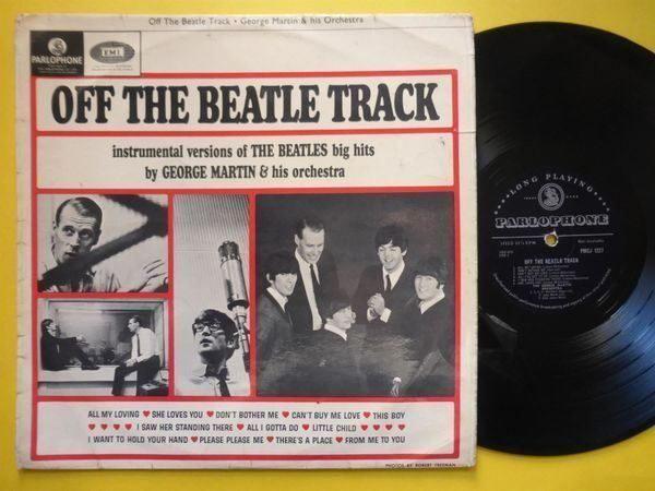 GEORGE MARTIN *LP* OFF THE BEATLE TRACK