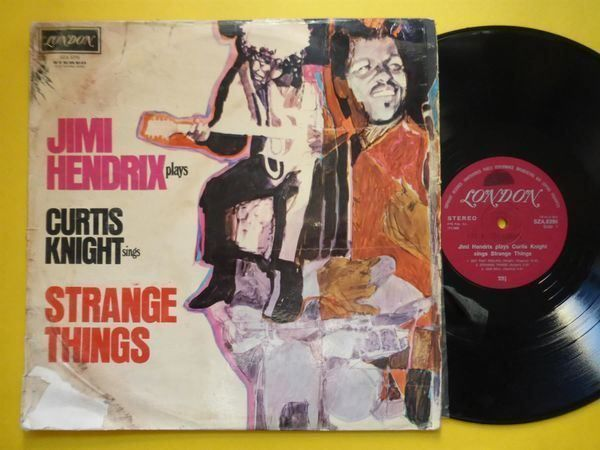 JIMI HENDRIX *LP* STRANGE THINGS
