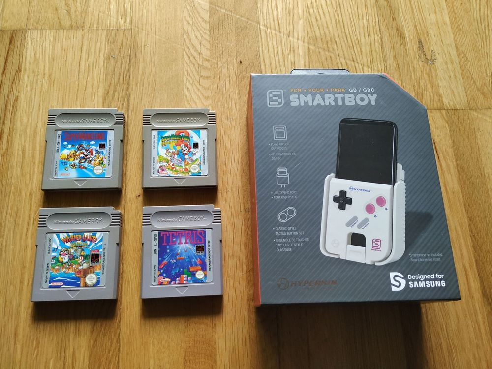 Smartboy + 4 GB Games