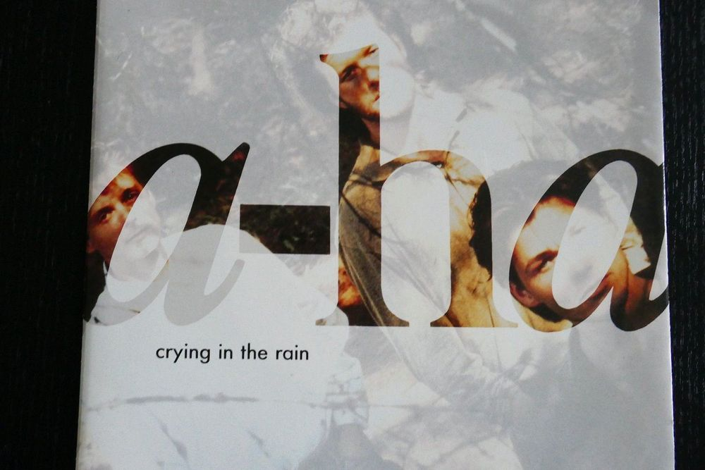 Vinyl Single a-ha: crying in the rain