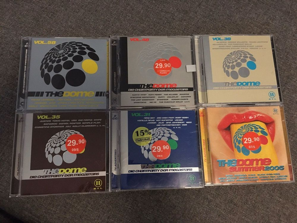 TheDome CD's