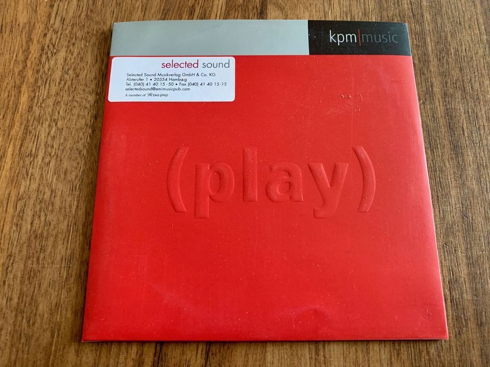 KPM Music - (PLAY), Promo-CD