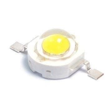 100Stk 1W High Power LED Chip warmweiss