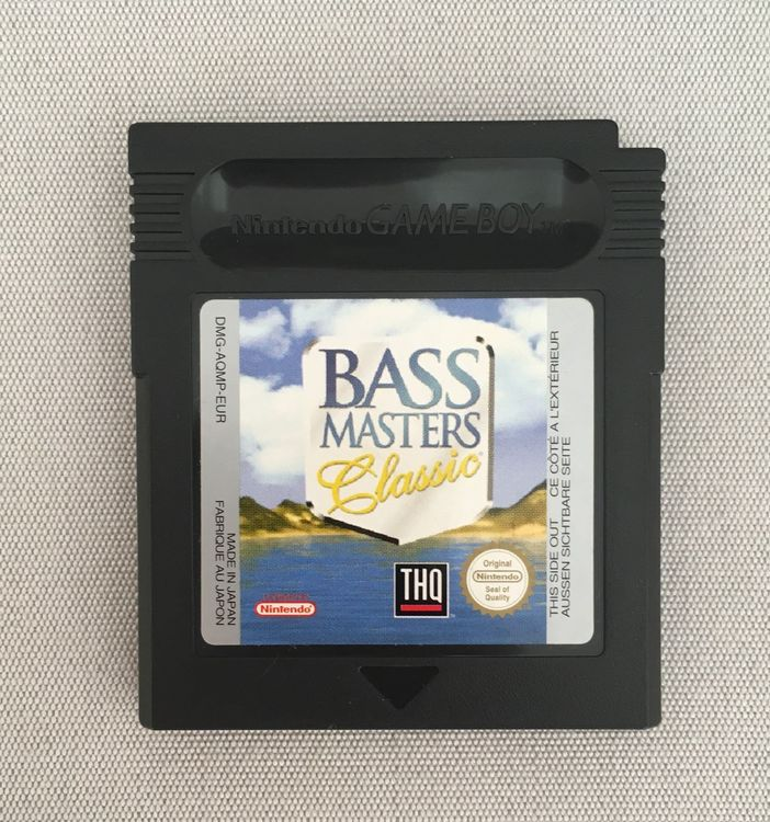 Bass Master Classic Game Boy Color